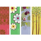 mixed set of 4 bookmarks