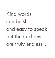 Quote - Kind words - HauteNote.com