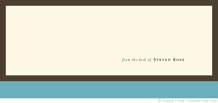 Icons   Blue   From The Desk Of Steven   Personalize Your Own Stationery  With A